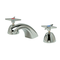 "Z831R2-XL - AquaSpec® widespread faucet with 5"" cast spout and cross handles"