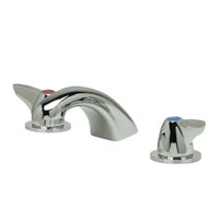 "Z831R3-XL - AquaSpec® widespread faucet with 5"" cast spout and dome lever handles"
