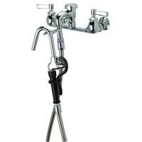 AquaSpec® wall-mount faucet with 2-5/8
