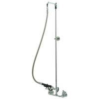 "Z842W1 - AquaSpec® wall-mount pre-rinse faucet with 44"" riser and 36"" flexible hose"