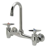 AquaSpec® wall-mount sink faucet with 3-1/2