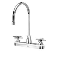 "Z871C2-XL - AquaSpec® kitchen sink faucet with 8"" gooseneck and cross handles"