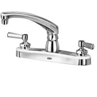 """Z871G1-XL - AquaSpec® kitchen sink faucet with 8"""" cast spout and lever handles"""
