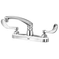 """Z871G4-XL - AquaSpec® kitchen sink faucet with 8"""" cast spout and 4"""" wrist blade handles"""
