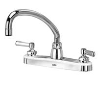 "Z871J1-XL - AquaSpec® kitchen sink faucet with 9-1/2"" tubular spout and lever handles"