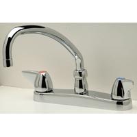 "Z871J3-XL - AquaSpec® kitchen sink faucet with 9-1/2"" tubular spout and dome lever handles"