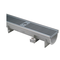 """4-3/4"""" Wide Shallow Linear Trench Drain System"""