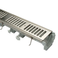 Z886-HDS-LD Reveal Perma-Trench® Linear Trench Drain System