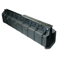 HPD Heel-Proof Hi-Cap® Slotted Drainage System for 18