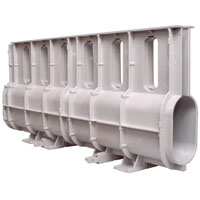 Z888-6 - Slotted Drainage System