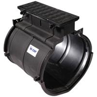 Z889-36-HPD - Hi-Cap® Slotted Drainage System Cleanout Port