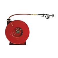 AquaSpec® retractable 25' hose reel