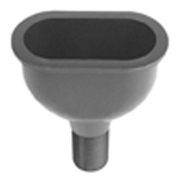 Z9-CS-OVAL Chemical Drainage Oval Cup Sink