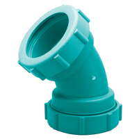 Z9A-E45 Chemical Drainage 45-Degree Elbow – 1/8 Bend
