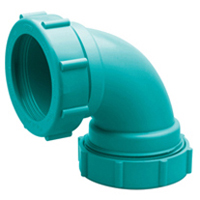 Z9A-E90 Chemical Drainage 90-Degree Elbow