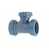Z9A-PTR PVDF Reducing Sanitary Tee