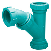 Z9A-YB Chemical Drainage Combination Wye and 45-Degree Elbow