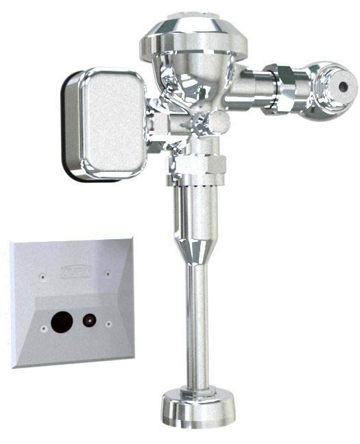 "ZEMS6003AV-MOB - Hardwired Exposed Automatic Low Consumption Sensor Flush Valve for 3/4"" Urinals"