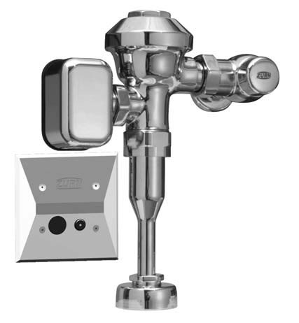Hardwired Automatic Sensor Flush Valve for Urinals