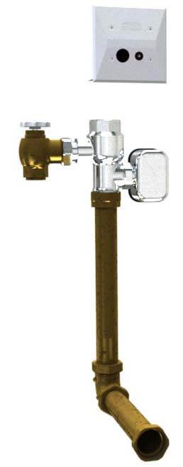 AquaSense® AV Concealed Hardwired Automatic Sensor Flush Valve for Water Closet