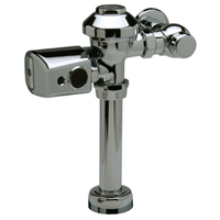 ZER6000AV-CPM - Exposed, Sensor Operated, Battery Powered, Flush Valve for Water Closets