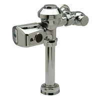 "ZER6000PL-WS1-3-CCP - AquaSense® PL Exposed Sensor Operated Battery Powered Flush Valve for Water Closet with 27"" Rough-In"