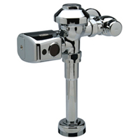 "ZER6001-CP - Aquaflush® Exposed Sensor Operated Battery Powered Flush Valve for 1-1/4"" Urinals"