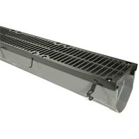 ZFV812 Fiber Reinforced Vinylester Trench Drain System with Steel Frame