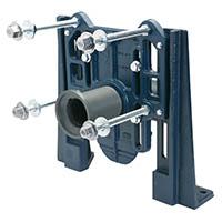 EZCarry® High Performance Water Closet Adjustable Horizontal Siphon Jet No-Hub Narrow Wall Carrier