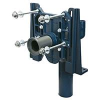 EZCarry® High Performance Water Closet Adjustable Vertical Siphon Jet No-hub Narrow Wall Carrier