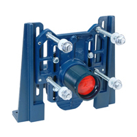 ZN1203-N4 - Adjustable Horizontal Siphon Jet No-Hub Narrow Wall System (9 3/8 Depth front to back)