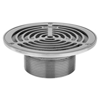 "ZS400BS Round ""Type BS"" Stainless Steel Strainer with Slotted Openings"
