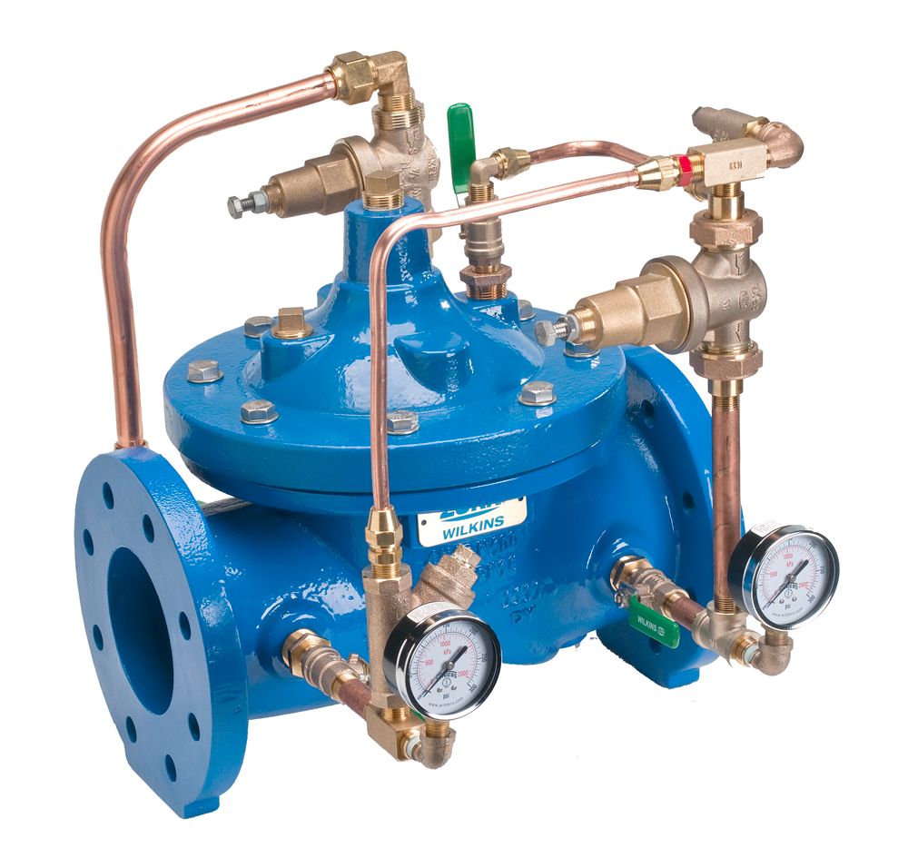 Pressure Reducing Valve With Low Flow Bypass