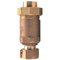 "12UFX12F-700XL - 1/2"" Dual Check Valve, Female NPT Union Inlet by Female NPT Outlet"