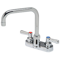 "Z812Y1-XL - AquaSpec® centerset 6-1/4"" double-bend spout with lever handles"