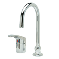 AquaSpec® single-control gooseneck faucet