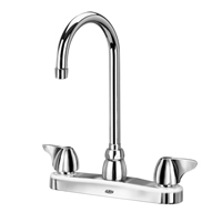 "Z871B3-XL - AquaSpec® kitchen sink faucet with 5-3/8"" gooseneck and dome lever handles"