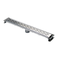 """ZS880-12 - 12"""" Stainless Steel Linear Shower Drain"""