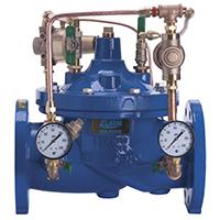 Pressure Regulator Valve with Downstream Surge Protection